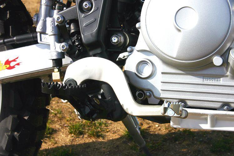 REAL EQUIP レアルエキップ ブレーキペダル・シフトペダル アルミブレーキペダル SEROW 250 TRICKER 250
