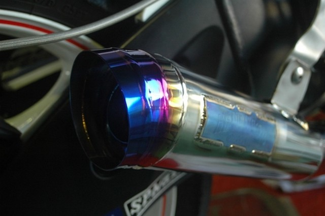 オオニシヒートマジック OHNISHI HEAT MAGIC フルエキゾーストマフラー メガホンサイレンサー GSX-R1000-06