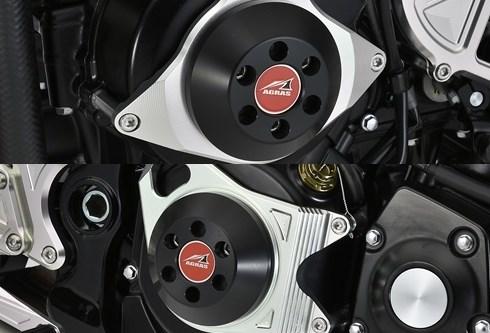 AGRAS アグラス ガード・スライダー レーシングスライダー 2点セット カラー:ブラック Z900RS