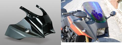 【イベント開催中!】 Magical Racing マジカルレーシング アッパーカウル 素材:平織りカーボン GPZ900R