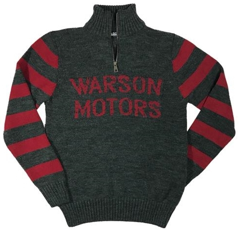 Warson Motors 【Warson Motors】 KNIT ZIP JUMPER (ニット ジップ ジャンパー)