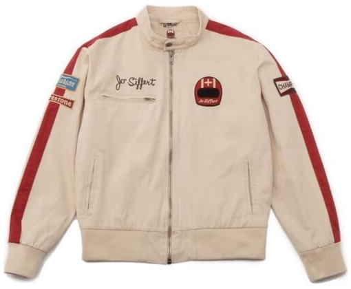 Warson Motors 【Warson Motors】 LIGHT DRIVER JO SIFFERT JACKET ECRU (ライトドライバー シフェール ジャケット)