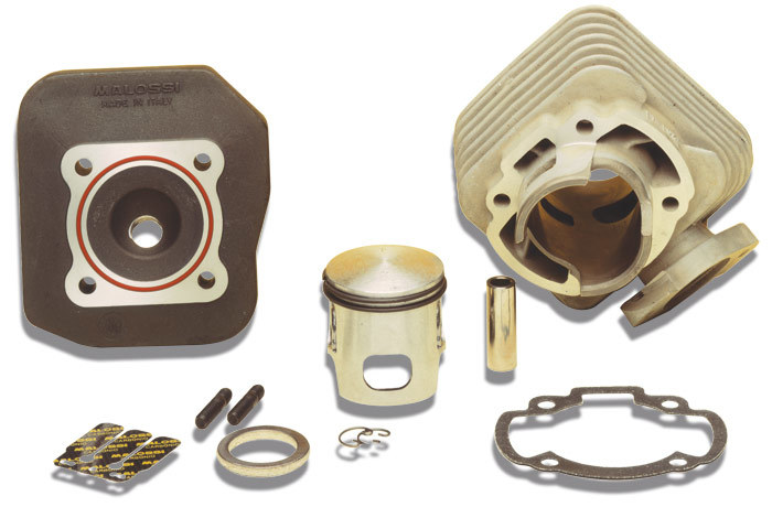 MALOSSI マロッシ その他エンジンパーツ シリンダー+ヘッド pin12mm MHR-replica スーパーDIO / ZX 縦置キエンジン 型式:AF 27/28