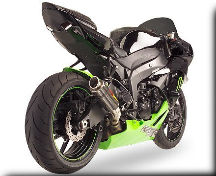 HOT BODIES RACING ホットボディーズ レーシング フェンダーレスキット アンダーテール (フェンダーレス) カラー:Transparent スモーク 09-12 [0521-0735] ZX-6R Ninja 2009-2012