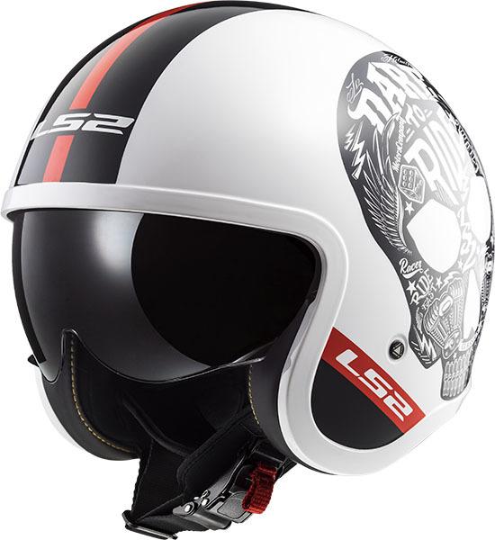 LS2 エルエス2 ジェットヘルメット SPITFIRE スピットファイア ヘルメット サイズ:XL