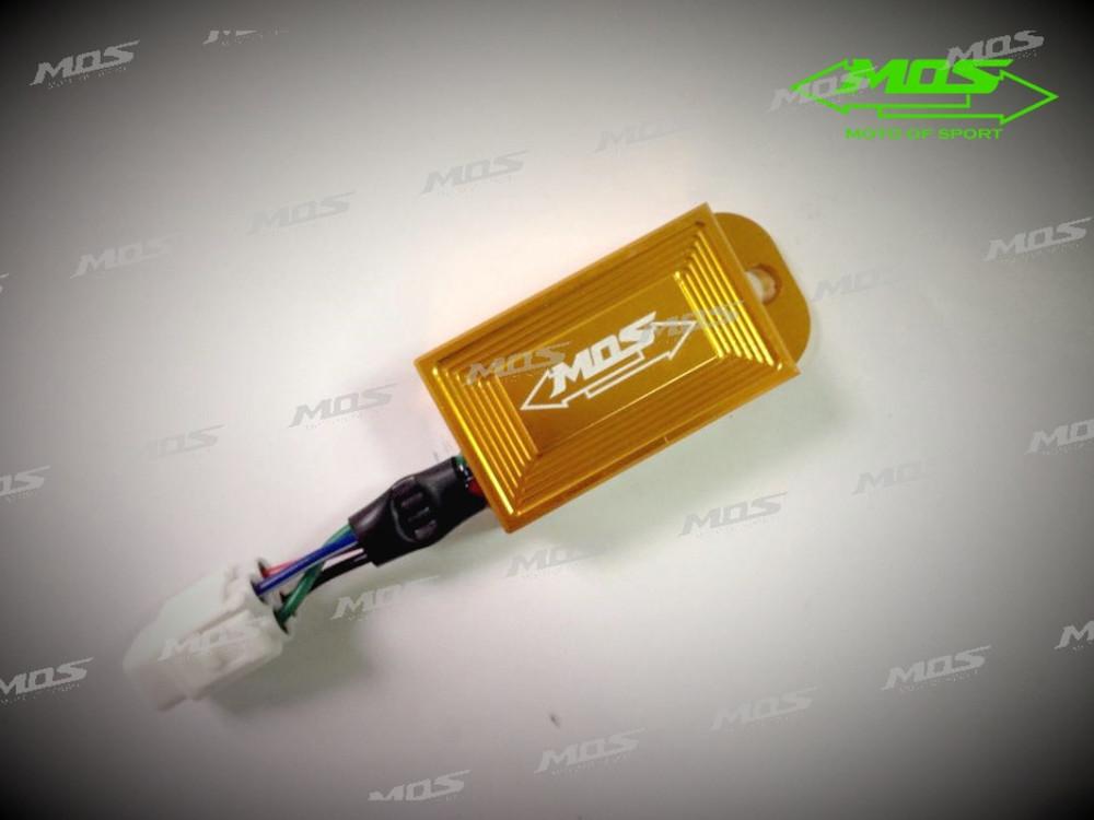 MOS モス その他電装パーツ O2センサー カラー:ゴールド GSR125 NEX アドレスV125 レーシング シリーズ