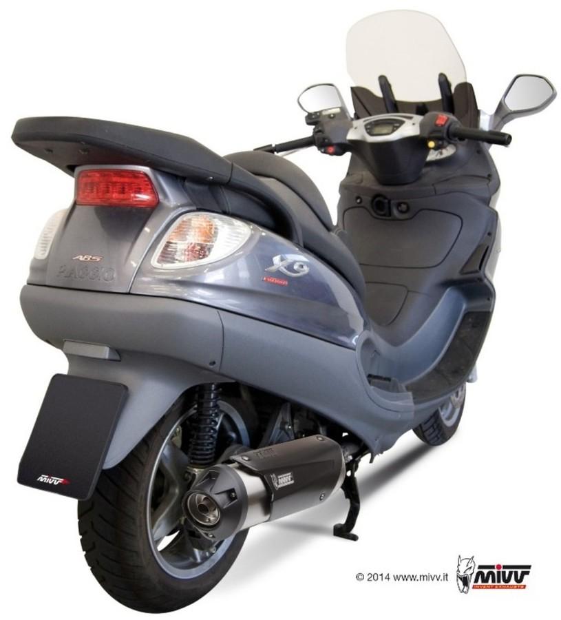 MIVV ミヴ URBAN スリップオンマフラー X9 500