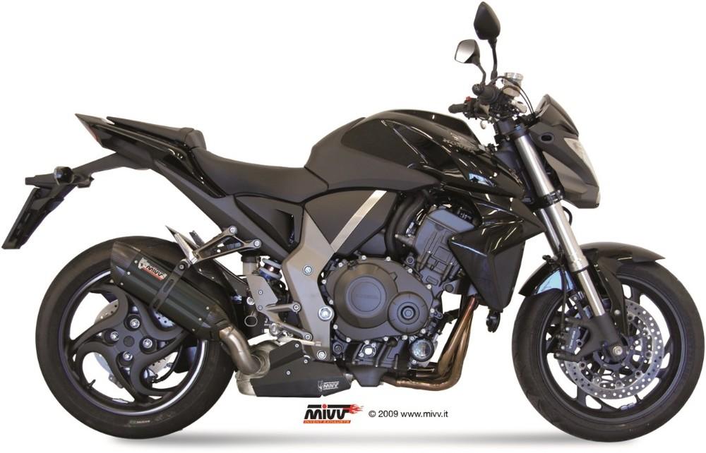MIVV ミヴ SUONO BLACK スリップオンマフラー CB1000R (-2017)