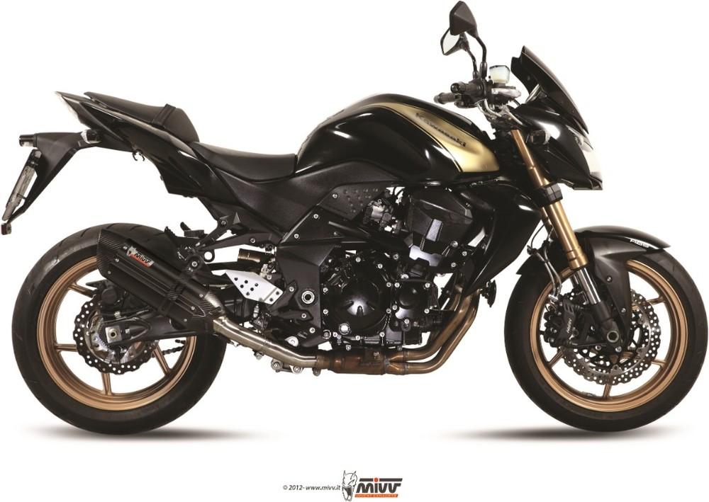 MIVV ミヴ SUONO BLACK スリップオンマフラー Z750R
