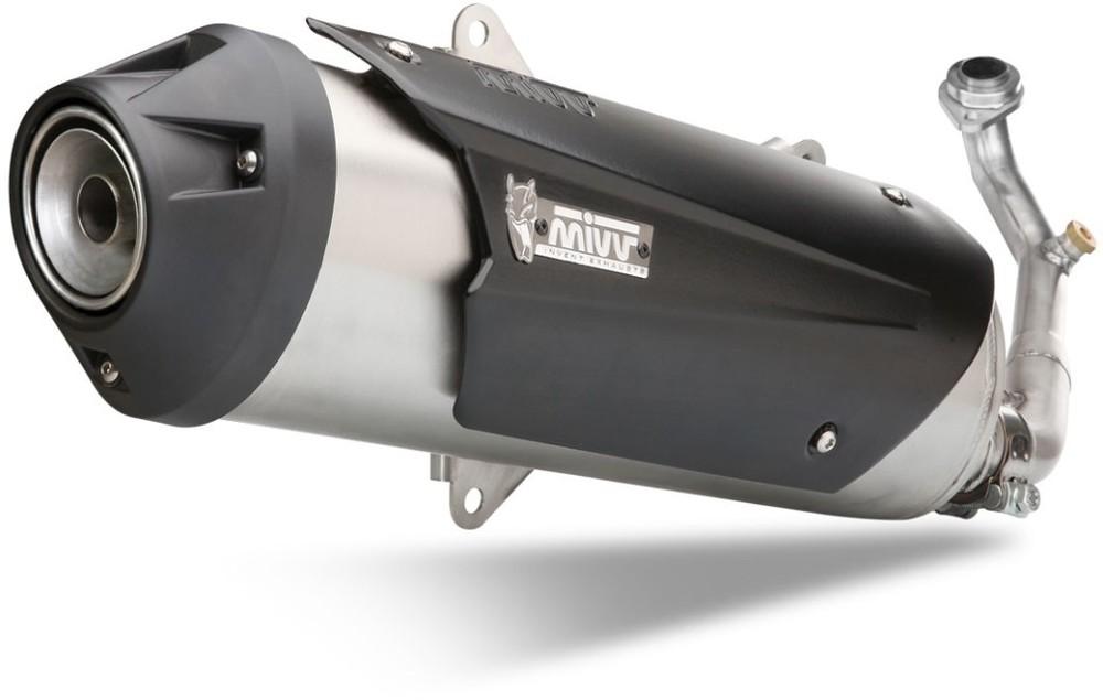 MIVV ミヴ URBAN スリップオンマフラー BEVERLY 400 BEVERLY500 FUOCO500ie NEXUS500 SCARABEO500 X-EVO 400 X8 400