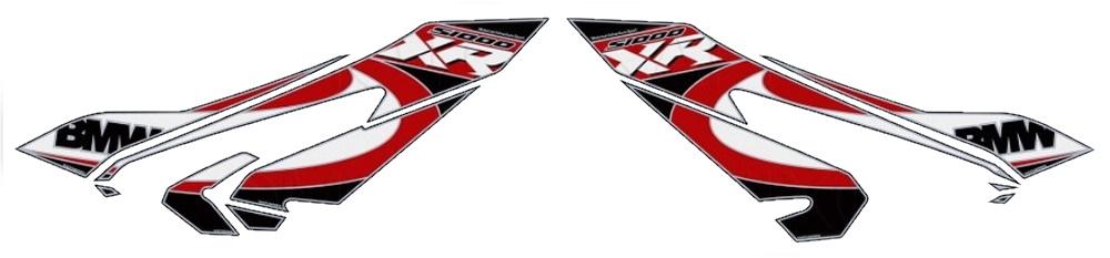 【ポイント5倍開催中!!】【クーポンが使える!】 MOTOGRAFIX モトグラフィックス ステッカー・デカール フェアリングプロテクター S1000XR