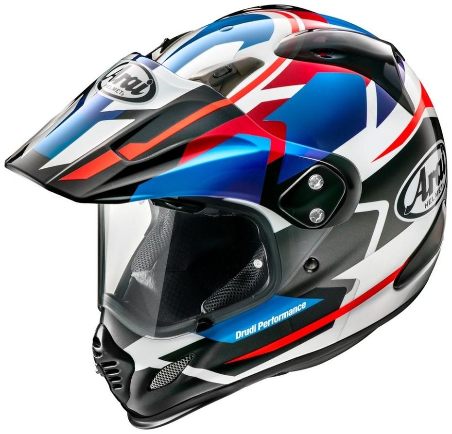 【クーポン配布中】Arai アライ TOUR-CROSS3 DEPARTURE [ツアークロス3 デパーチャー ブルー] ヘルメット