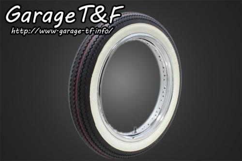 ガレージT&F unilli(ユナリ) ビンテージタイヤ 18×4.00 ビラーゴ250(XV250)