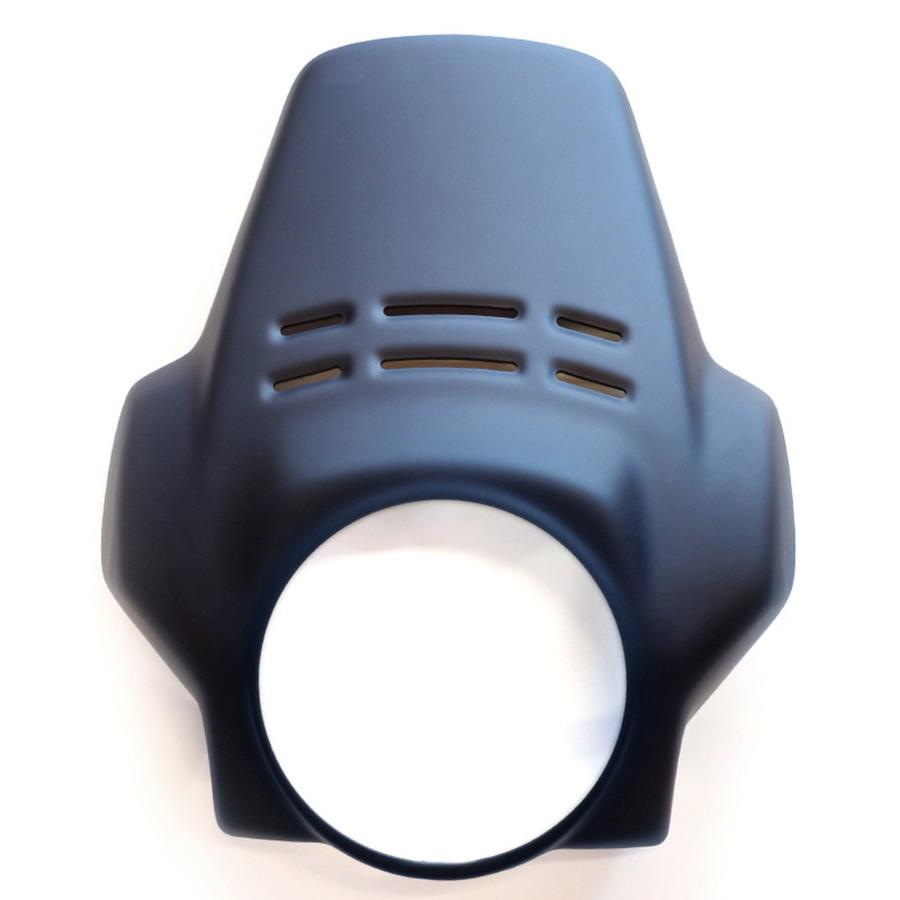 大注目 HP2 Megamoto:ウェビック 店 GARAGE UNIT ユニットガレージ その他外装関連パーツ ENDURO ウインドシールドFENOUIL カラー:マットブラック HP2-DIY・工具