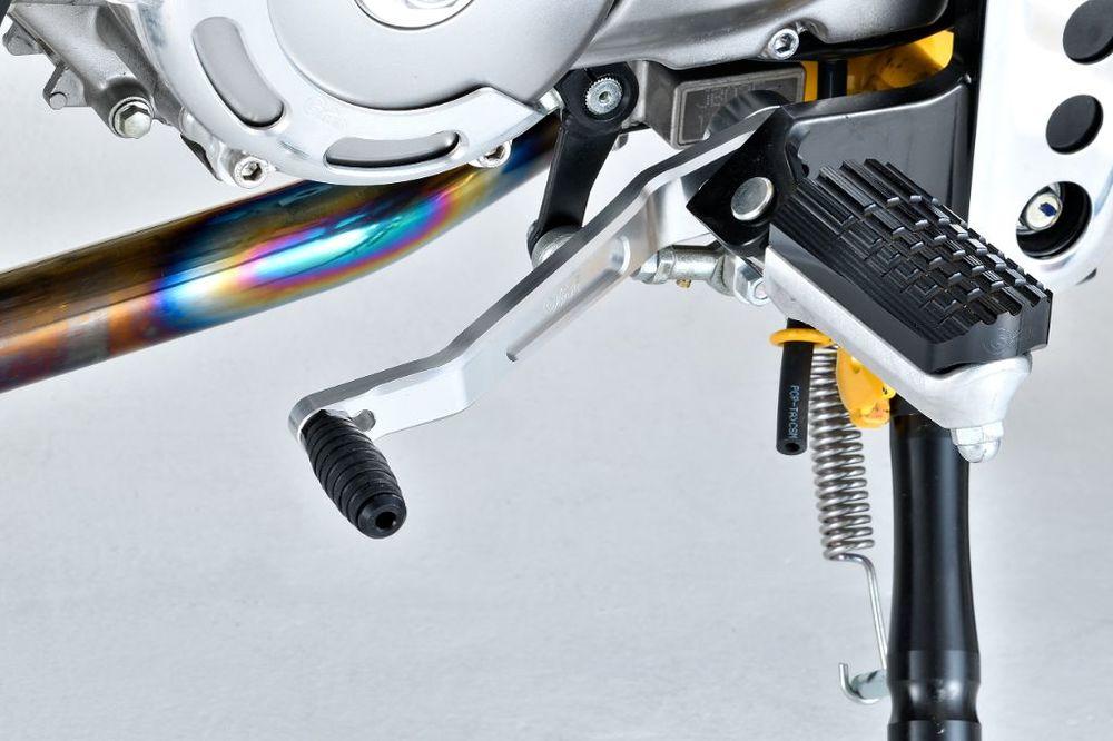 【在庫あり】G-Craft Gクラフト ビレットチェンジペダル モンキー125