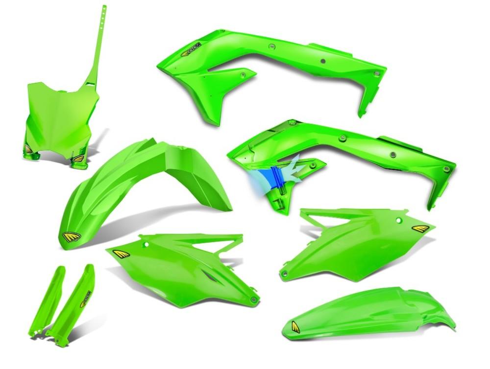 CYCRA サイクラ フルカウル・セット外装 パワーフローインテークボディキット カラー:グリーン KX450F