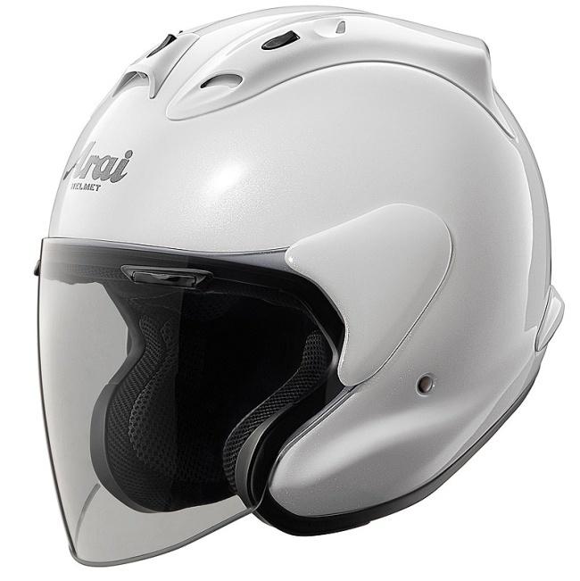 Arai ジェットヘルメット アライ MZ [エムゼット グラスホワイト] ヘルメット