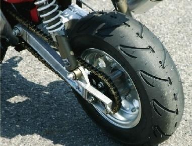 steady ステディ オンロード・スクーター/ミニバイク 8インチワイドタイヤ B77(バナナ) 【120/70-8】 タイヤ