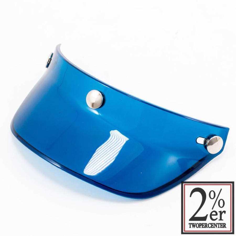 ヘルメット 2%er ツーパーセンター OB549EX0  2%er ツーパーセンター シールド・バイザー オーシャンビートルヘルメット バイザー BEETLE VISOR カラー:ブルー