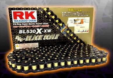 RK アールケー チェーン BLブラックスケールシリーズチェーン BL530X-XW