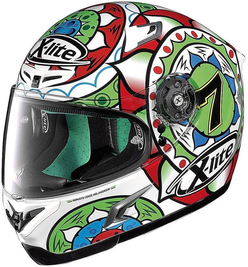 【送料無料】ヘルメット NOLAN ノーラン 95601  NOLAN ノーラン フルフェイスヘルメット X-LITE X-802RR ウルトラカーボン デイビスイモラ サイズ:L(59-60cm)