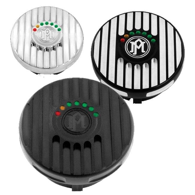 PerformanceMachine パフォーマンスマシン LEDフューエルゲージキャップ Grill 汎用 96-13