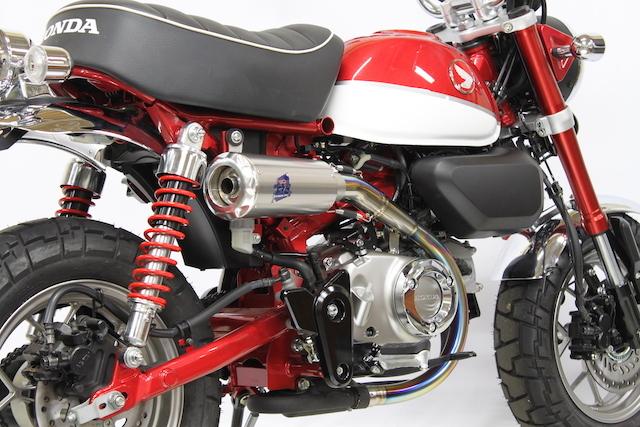 TSR テクニカルスポーツレーシング スリップオンマフラー モンキー125