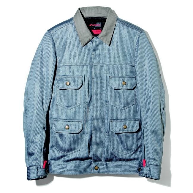 HONDA RIDING GEAR ホンダ ライディングギア メッシュジャケット [Honda×SHINICHIRO ARAKAWA]メッシュブルゾンH36 サイズ:LL
