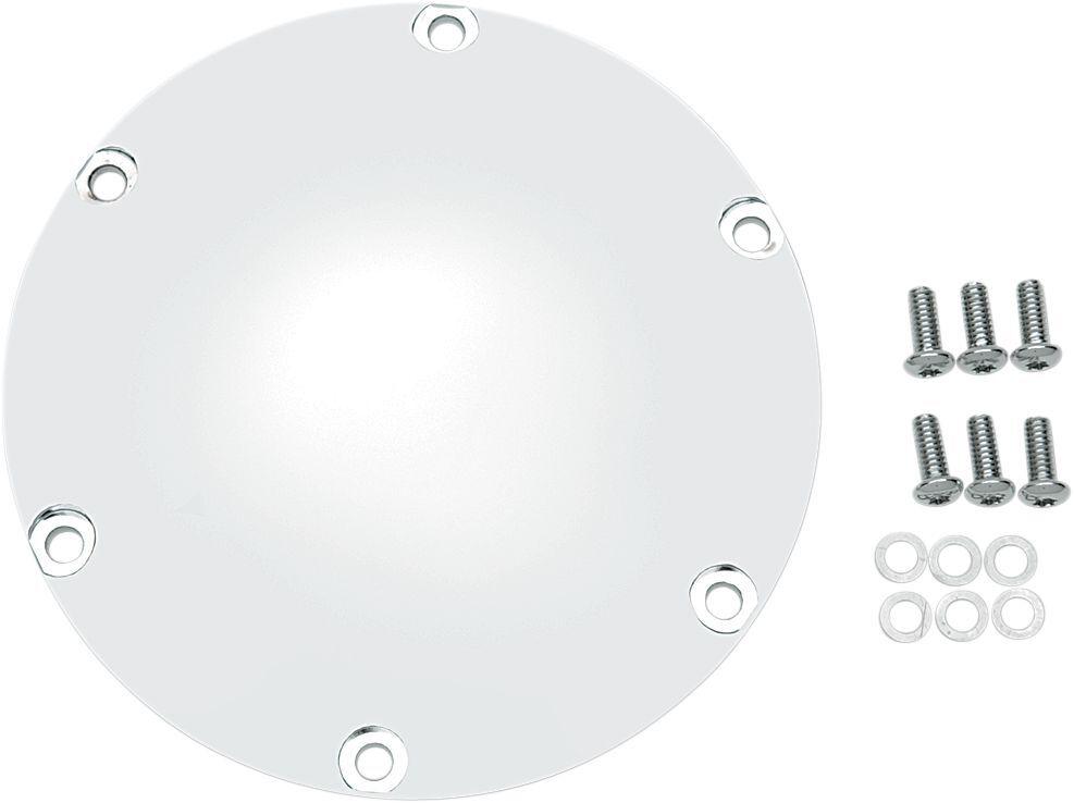 Drag Specialties ドラッグスペシャリティーズ エンジンカバー ダービーカバー クローム XL 2004-17用 【CHRM DERBY CVR 04-17 XL [1107-0006]】
