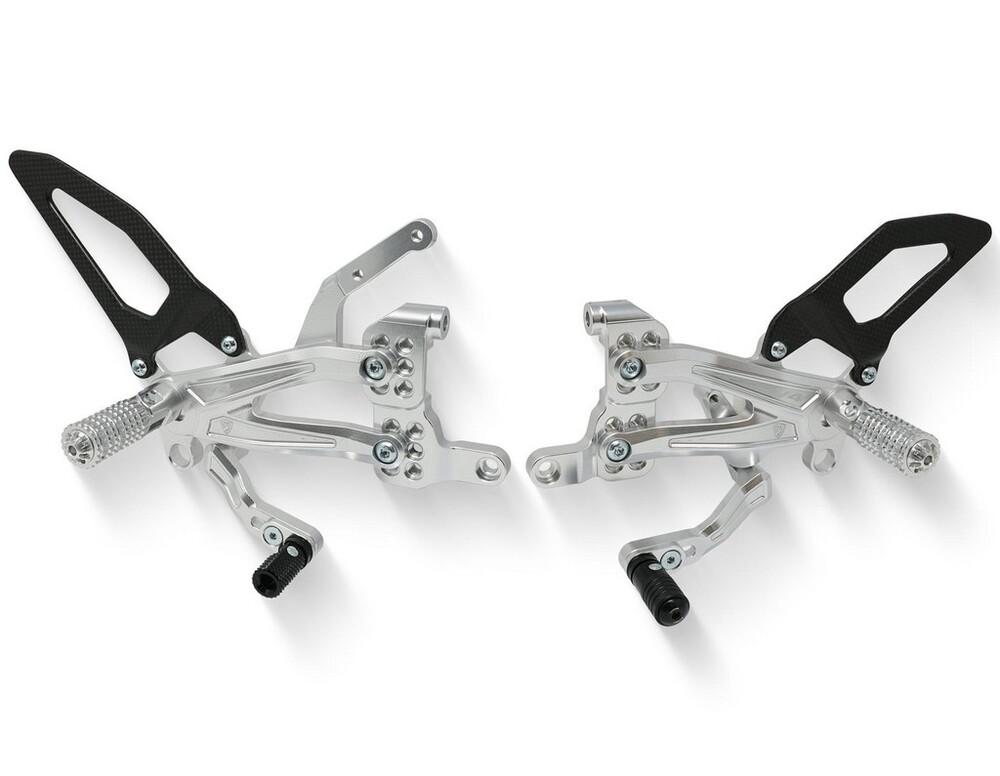 CNC Racing CNCレーシング バックステップ Adjustable rear sets RPS Ducati Panigale V4 R カラー:シルバー SUPERBIKE Panigale V4 R