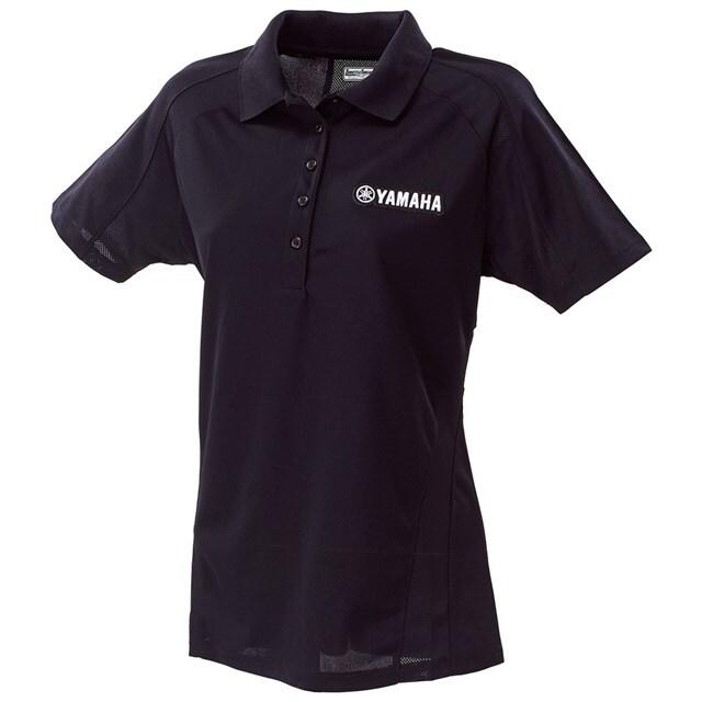 US YAMAHA 北米ヤマハ純正アクセサリー Tシャツ レディース YAMAHA モイスチャーウィッキングポロシャツ【Women's Yamaha Moisture Wicking Polo Shirt】 サイズ:XL