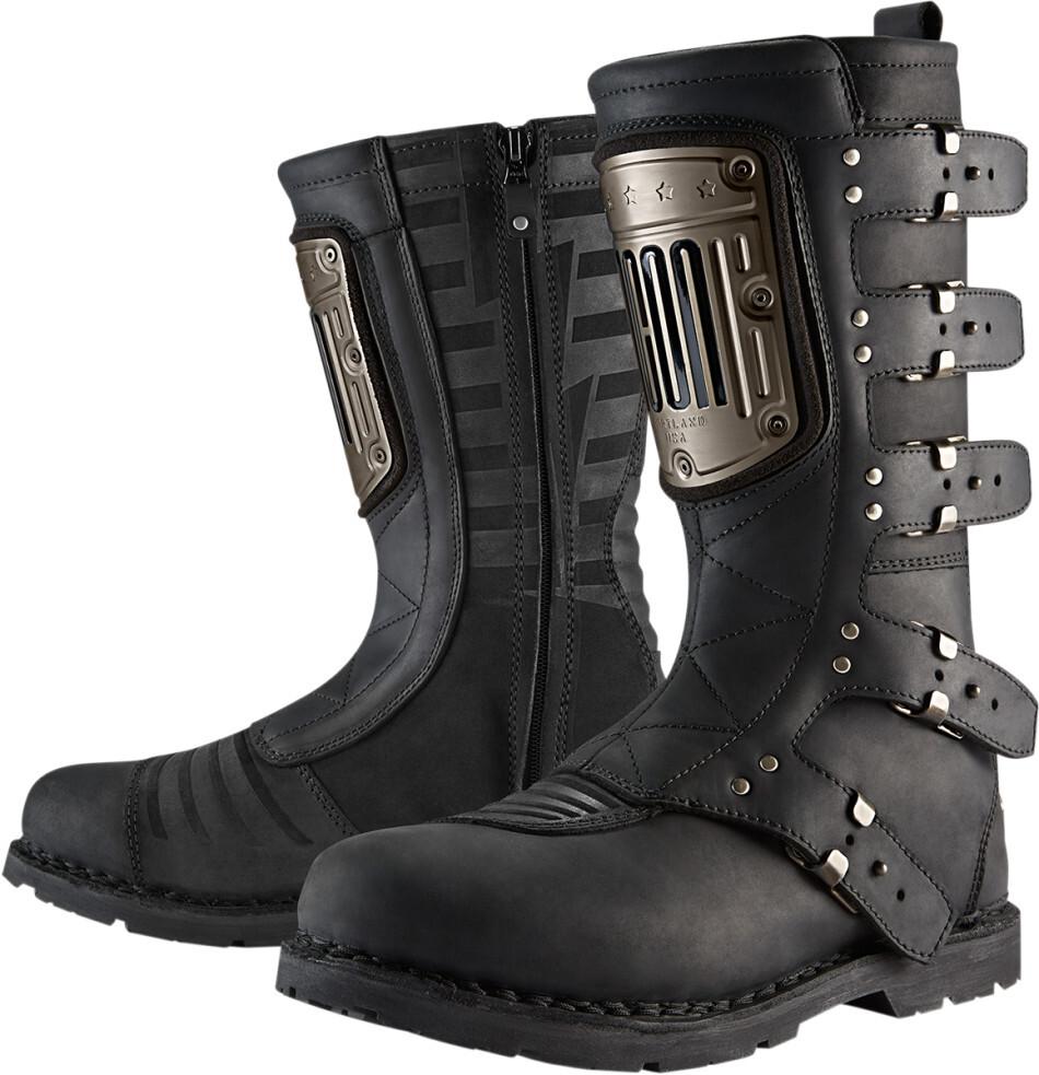 ICON アイコン オフロードブーツ ELSINORE HP BOOT エルシノア・ブーツ サイズ:US 8.5(約26.5cm)