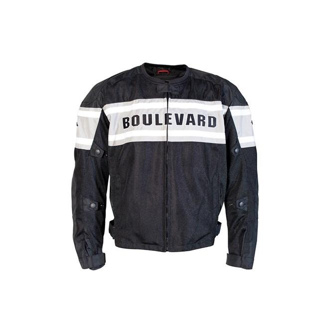 US SUZUKI 北米スズキ純正アクセサリー BOULEVARD メッシュジャケット【Boulevard Mesh Jacket】 サイズ:LRG