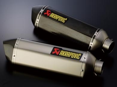 AKRAPOVIC アクラポビッチ e1仕様 Z-TYPE ホモロゲイテッド へキサゴナルサイレンサー カーボン(エンドバッフル付き)