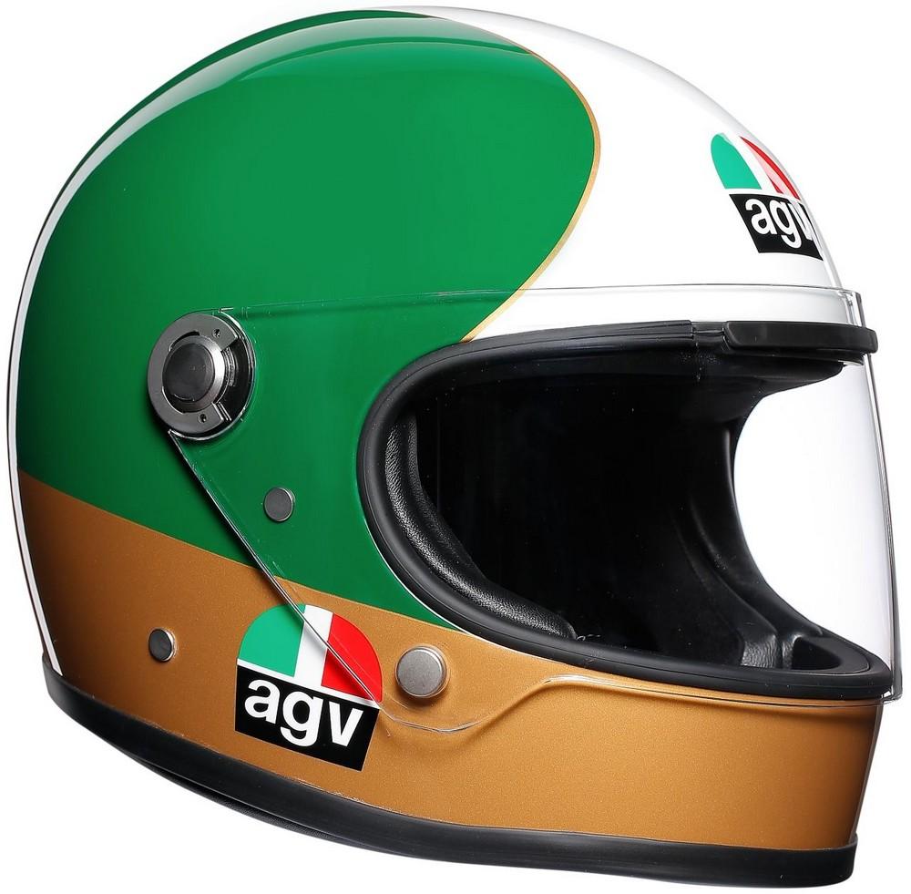 AGV エージーブイ フルフェイスヘルメット X3000 レジェンズ 限定モデル ヘルメット (LEGENDS JIST LIMITED EDITION) サイズ:XL(61-62cm)