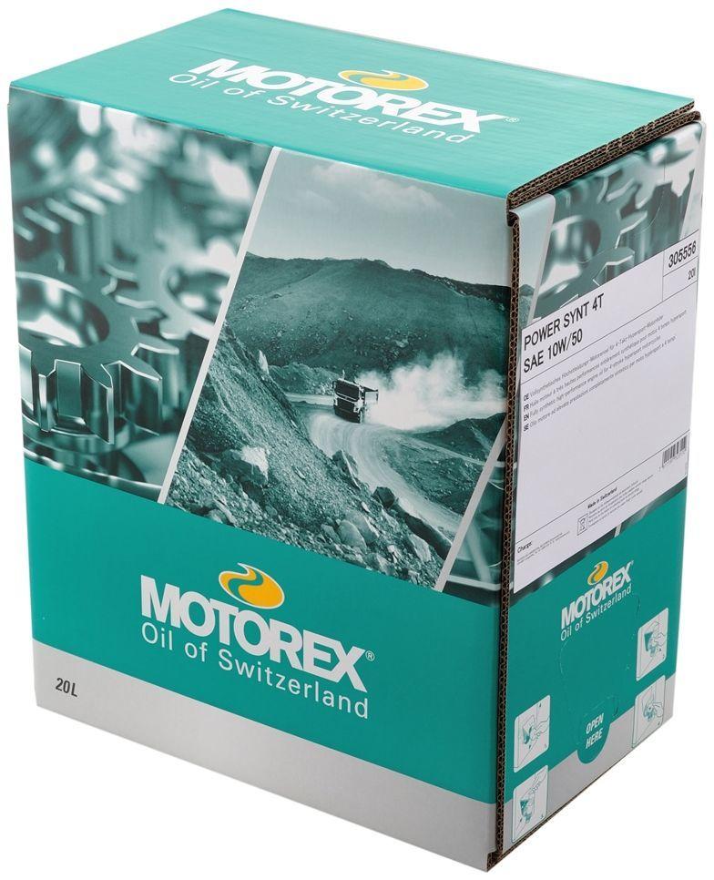 MOTOREX モトレックス POWER SYNT 4T【10W-60】【4サイクルオイル】 容量:20L