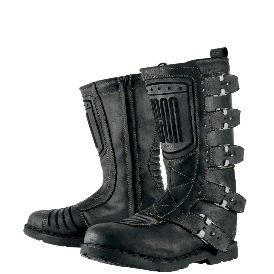ICON アイコン オンロードブーツ ELSINORE BOOT エルシノア・ブーツ サイズ:12(約30cm)