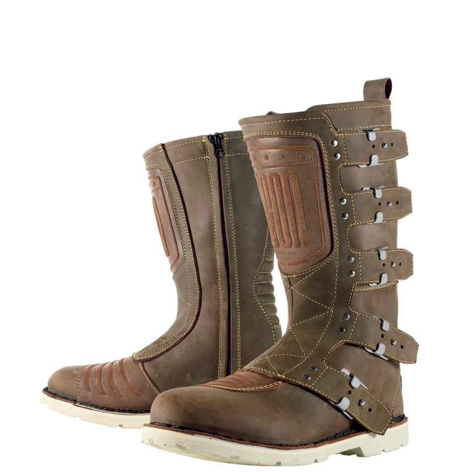 ICON アイコン オンロードブーツ ELSINORE BOOT エルシノア・ブーツ サイズ:10.5(約28.5cm)