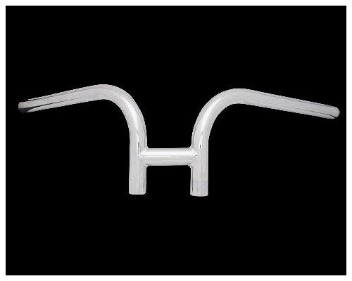 Neofactory ネオファクトリー ハンドルバー 6インチ ラビットバーハンドル カラー:クローム タイプ:ヘコミ有り