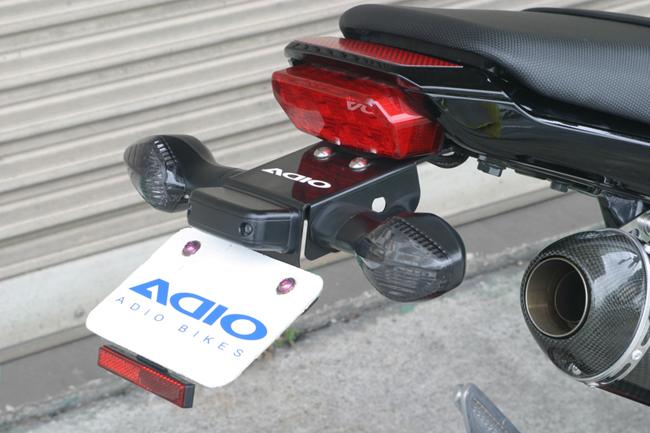 ADIO アディオ フェンダーレスキット グロム (MSX125) 13.06- (EBJ-JC61)