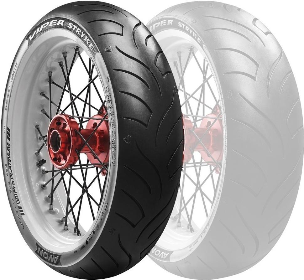AVONエイボン オンロードスクーター/ミニバイク  AM63 Viper Stryke 【110/70-16 52S】 バイパーストライク タイヤ AVON エイボン オンロード・スクーター/ミニバイク AM63 Viper Stryke 【110/70-16 52S】 バイパーストライク タイヤ Tersely GT125i Tersely GT125i