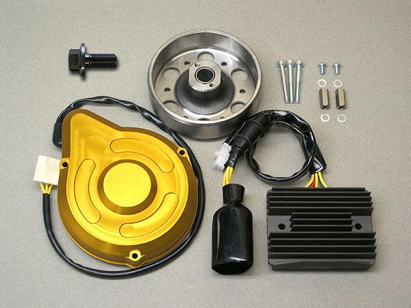 メタルギアワークス METAL GEAR WORKS その他電装パーツ 強化ジェネレーターキット CB900 F 全年式 (SC09) CB900 F 全年式 (SC01) CB750 F (RC04) CB1100 R (SC08) CB1100 R (SC05) CB1100 F (SC11)