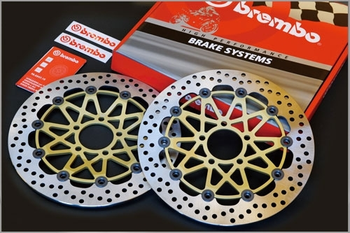 Brembo ブレンボ [Super Sport] フローティングディスク 左右セット Brutale RC 800 Brutale RR 800 Dragster 800 RR F3 675 F3 800 F4 1000 LH 44