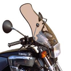 スクリーン セクデム レンジャー・ウインドシールド FZX750 SECDEM カラー:グレースモーク