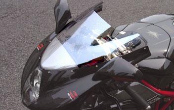 MOTO CORSE モトコルセ オプティカル ウインドスクリーン F4-750