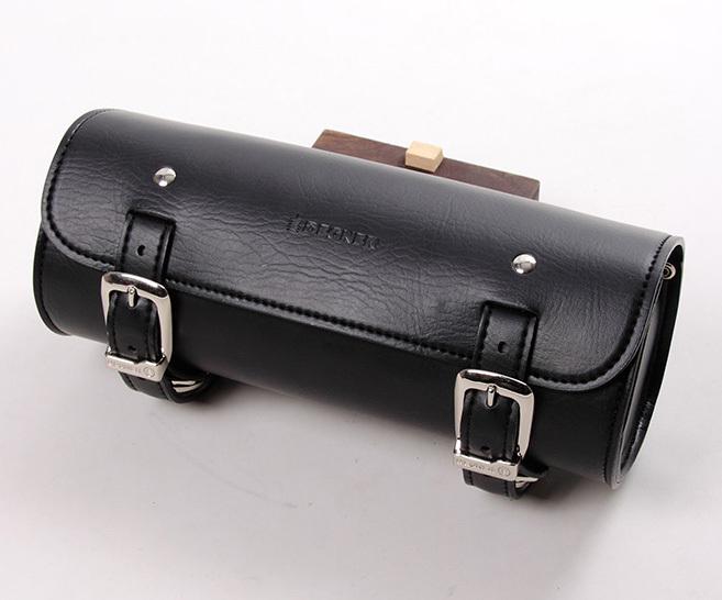 DEGNER デグナー ショルダーバッグ シンセティックレザーツールバッグ カラー:ブラック