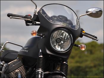 CHIC DESIGN シックデザイン ビキニカウル・バイザー ロードコメット カラー:ルビードブラック スクリーンカラー:スモーク V7 Stone