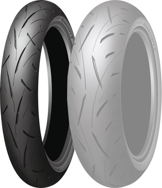 DUNLOP ダンロップ SPORTMAX Roadsport 2 【120/60ZR17 M/C (55W)】 スポーツマックス ロードスポーツ2 タイヤ
