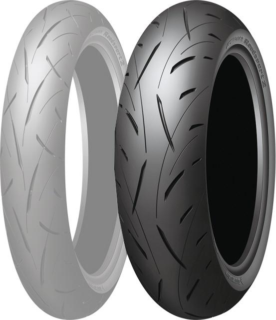 DUNLOP ダンロップ SPORTMAX Roadsport 2 【160/60ZR17 M/C (69W)】 スポーツマックス ロードスポーツ2 タイヤ