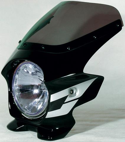 N PROJECT Nプロジェクト エヌプロジェクト ビキニカウル・バイザー ブラスターII スタンダードスクリーン カラー:ブラック(単色仕上げ) CB400SF HYPER VTEC SpecIII